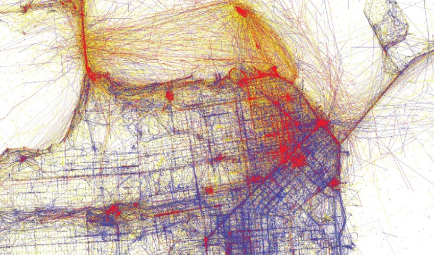 Sf Traffic Map There's a Map for That   The Berkeley Science Review