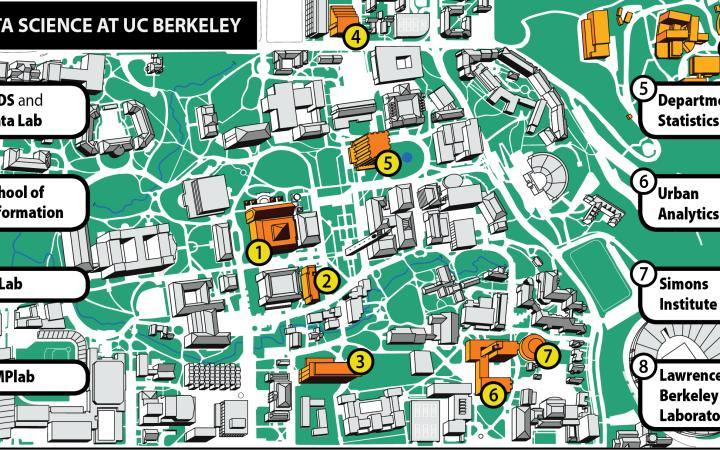 Data Science Map Berkeley