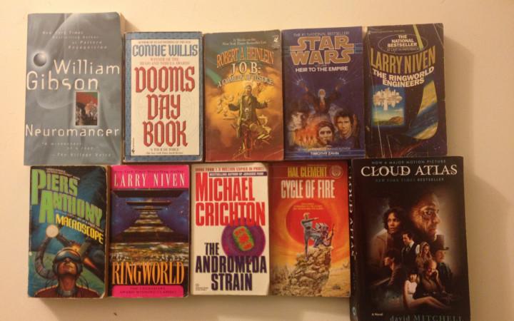 Science Fiction Books. Photo credit: David Litt