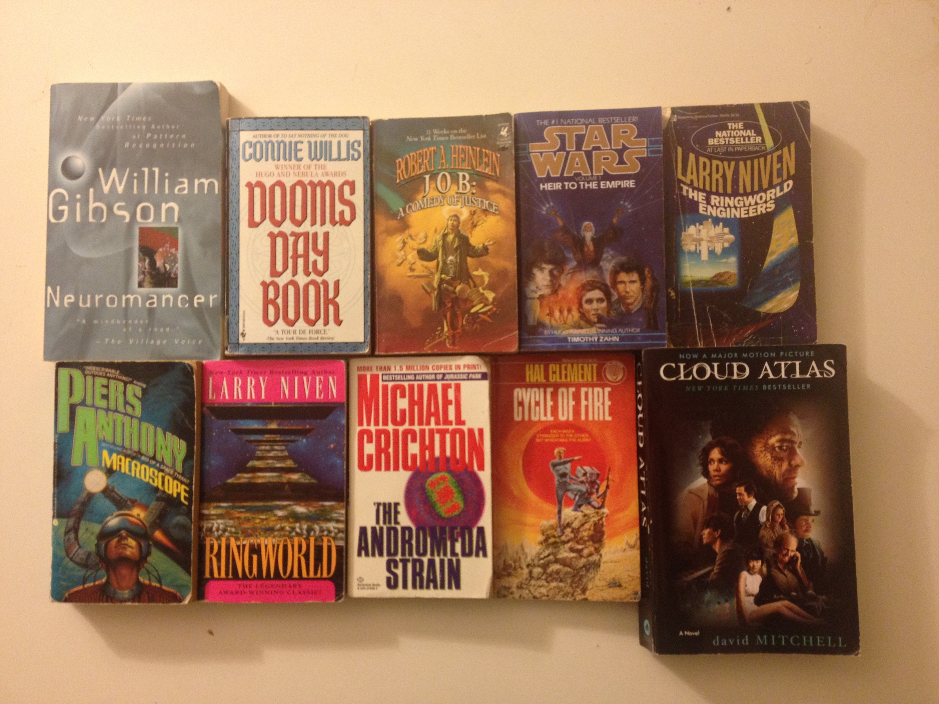 Science Fiction Books. Photo credit: David Litt