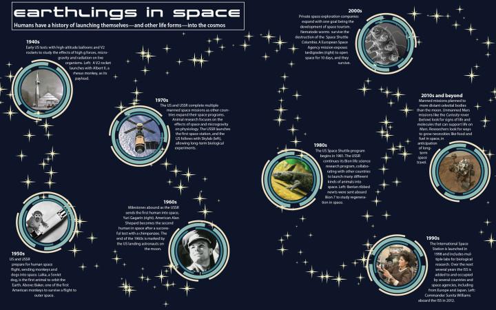 Human health in space travel through the decades