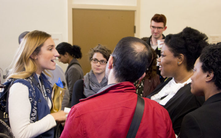 Photo taken by Ryan Forster, BSR Design Team, at the Beyond Academia conference.